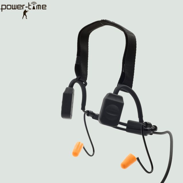 Military bone conduction headset PTE-570