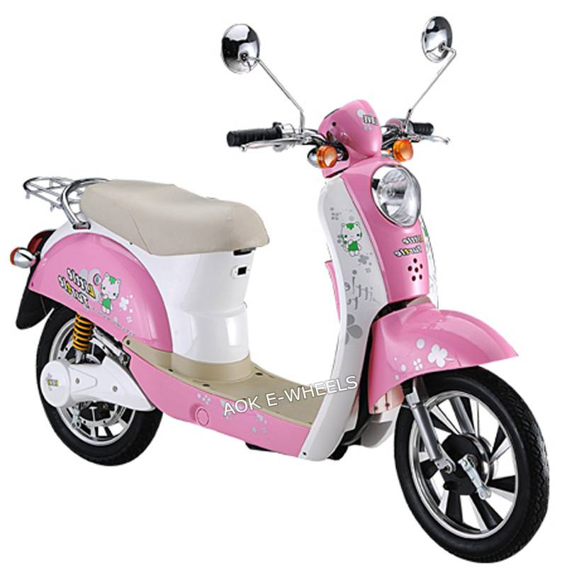 350W/500W Motor Lady Electric Bike, Electric Moped with The Mirrior (ES-017)