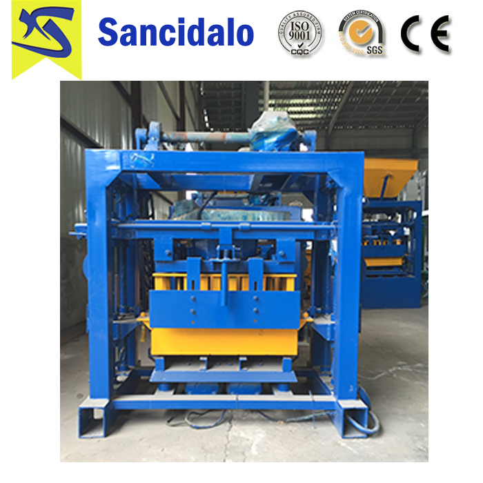 manual block machine