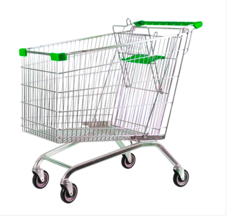 Steel Wire Shopping Trolley 275 litres