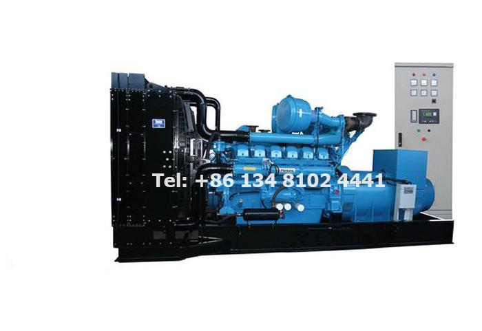 500 KW 625 KVA Perkins Diesel Generator