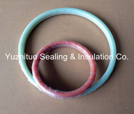 D Type Flange Protection Insulation Gasket RTJ Type Insulating Gasket