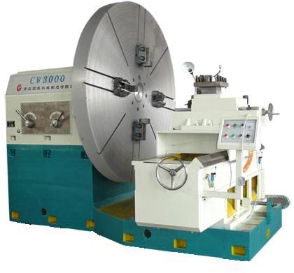 New! China Swing Dia / Diameter 3000MM Ring Parts Flange Turning Surface End Facing Lathe Machine