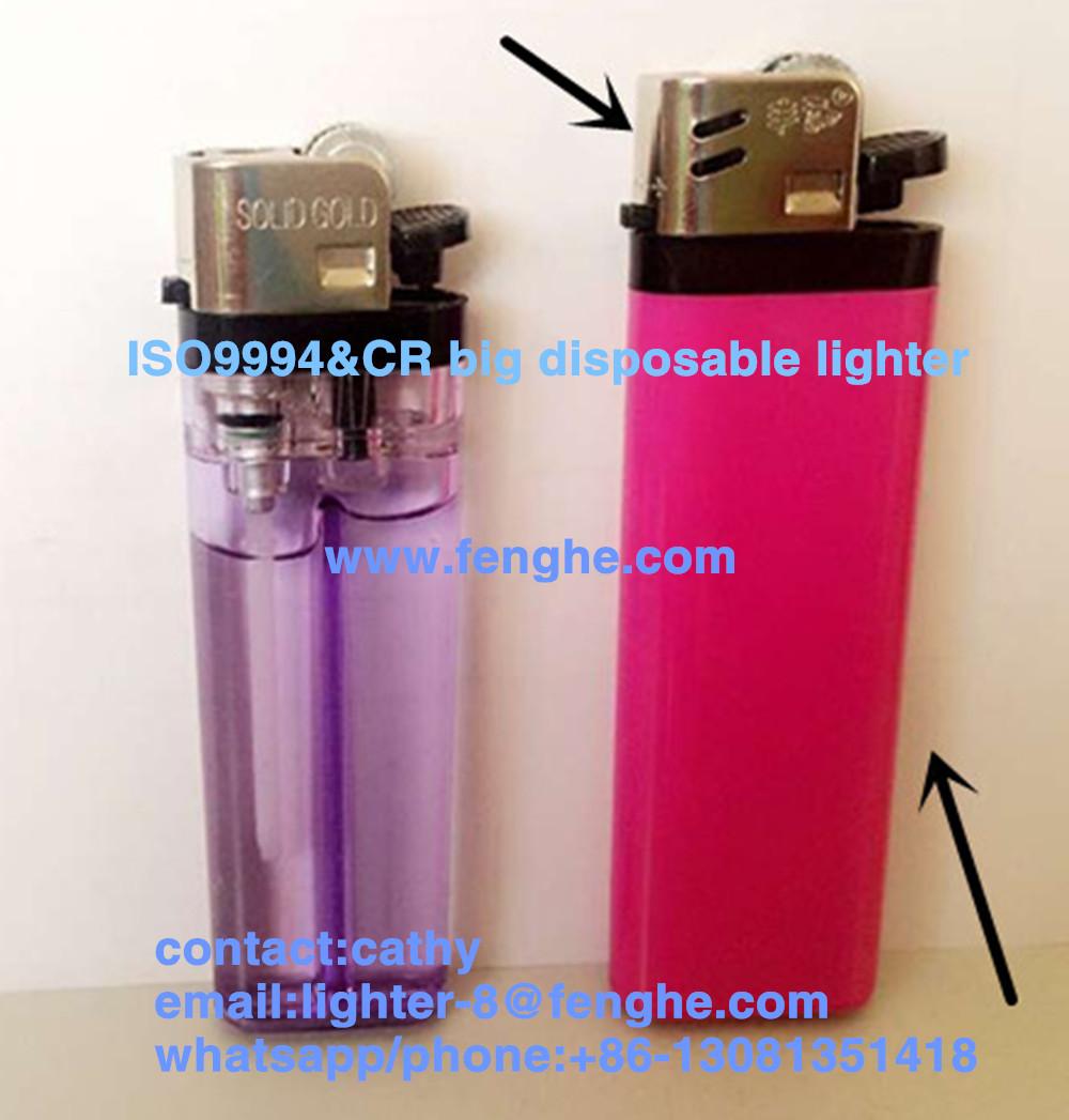FH-209 flint lighter big than normal