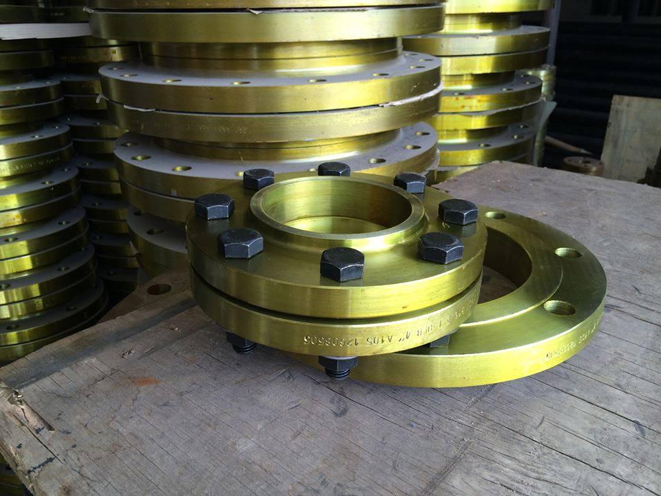 DIN 2533 PN16 carbon steel ring flange
