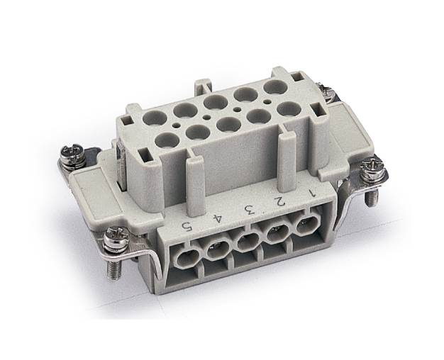 heavy duty connector-HE-010-F