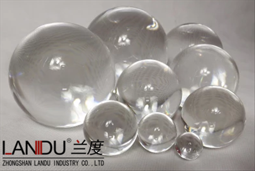 High quality transparent different size acrylic round balls
