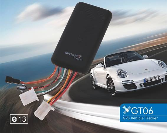 GT06, Multifunctional GPS Vehicle Tracker, Car Tracking Fleet Management