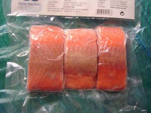high quality frozen salmon