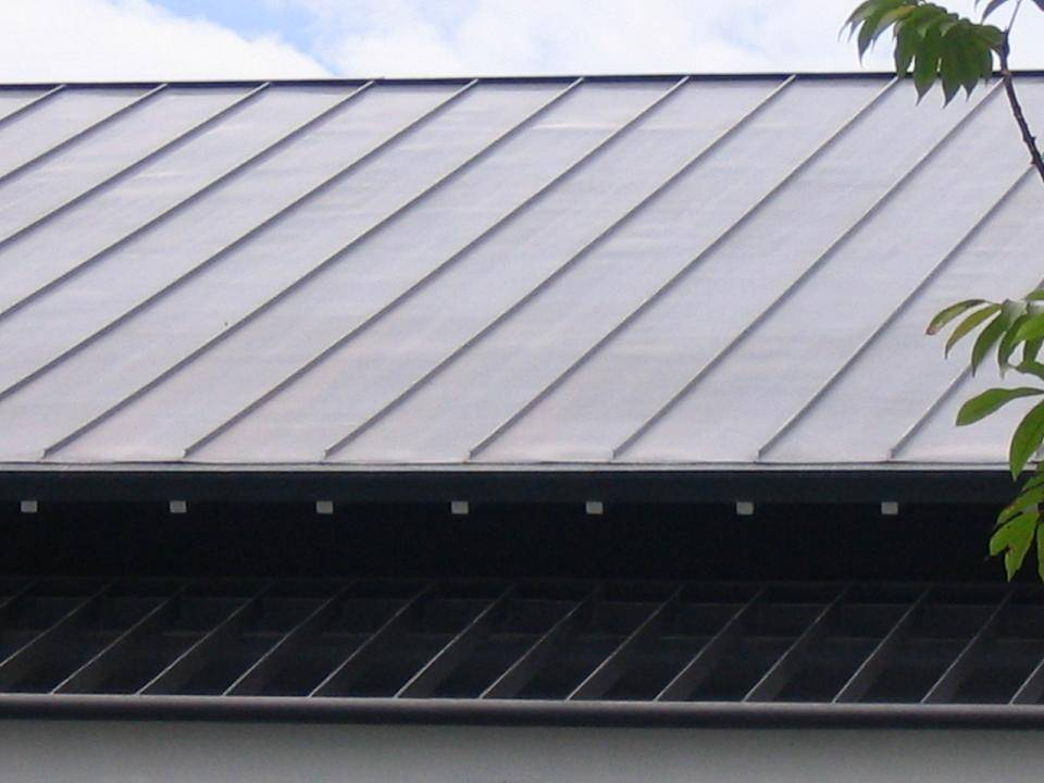 Factory price 25 height grey color classic aluminum alloy roof plate for villa
