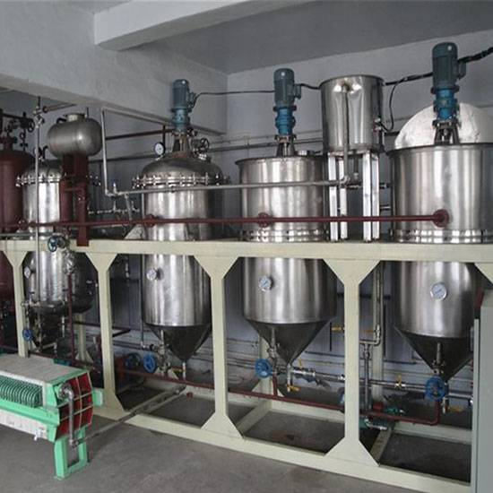 5TPD Soybean crude oil refinery machine