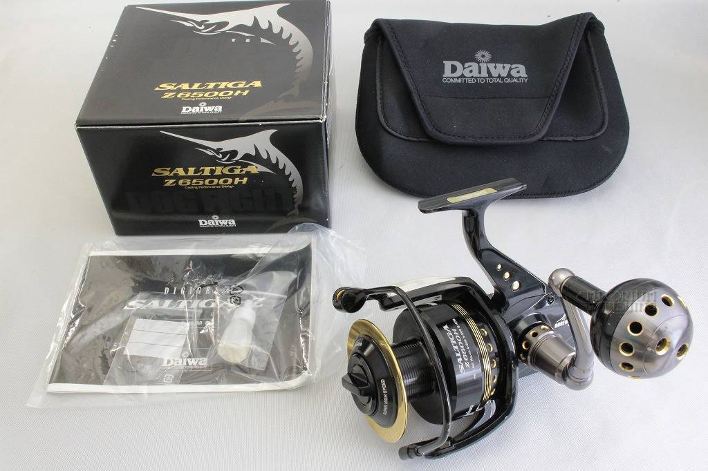 Daiwa Saltiga Z 6500H Dogfight Fishing Reel