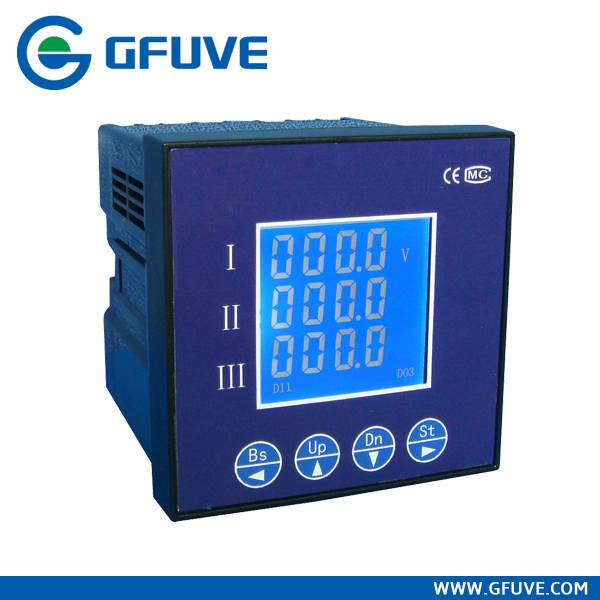 FU9000 THREE PHASE CURRENT AND VOLTAGE DISPLAY METER