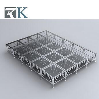 aluminum stage portable fireproof