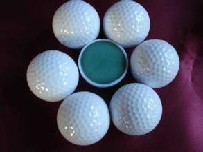 two piece range golf ball