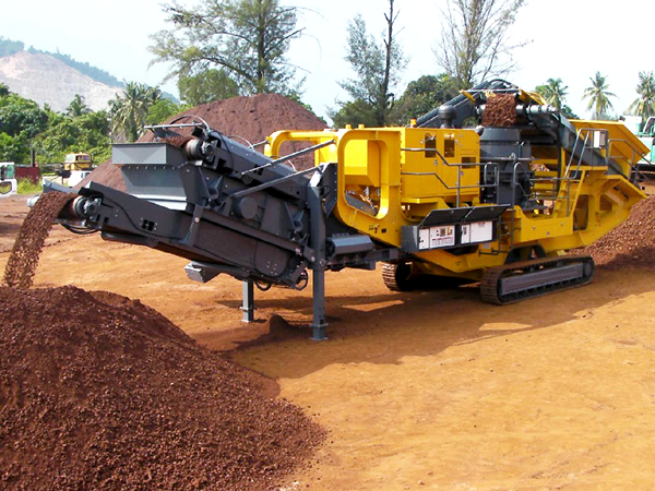 Aggregate Mobile crusher with low cost