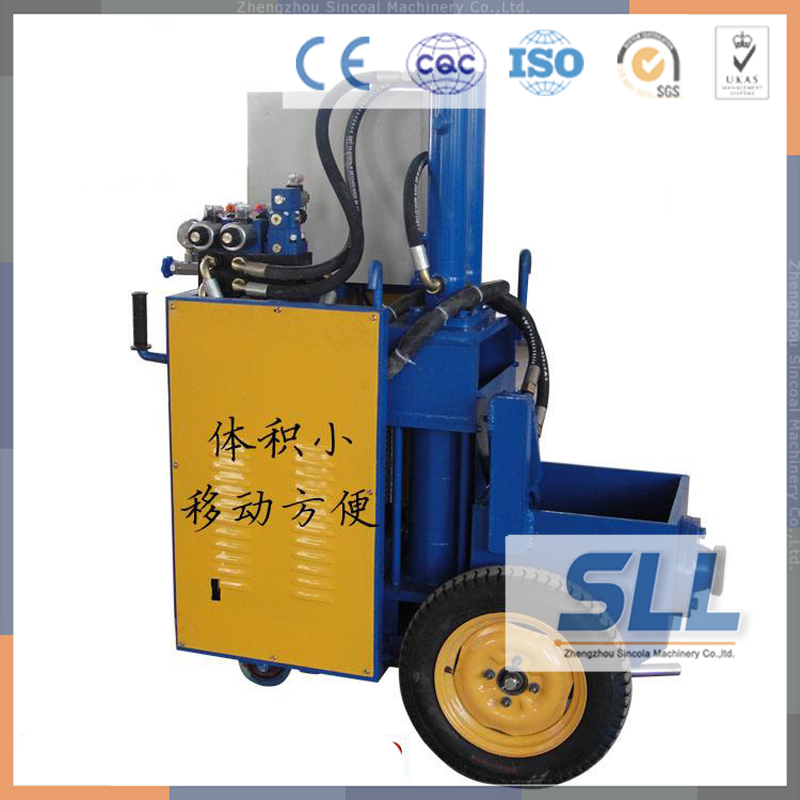Concrete Pumping Secondary Structure Column Pump