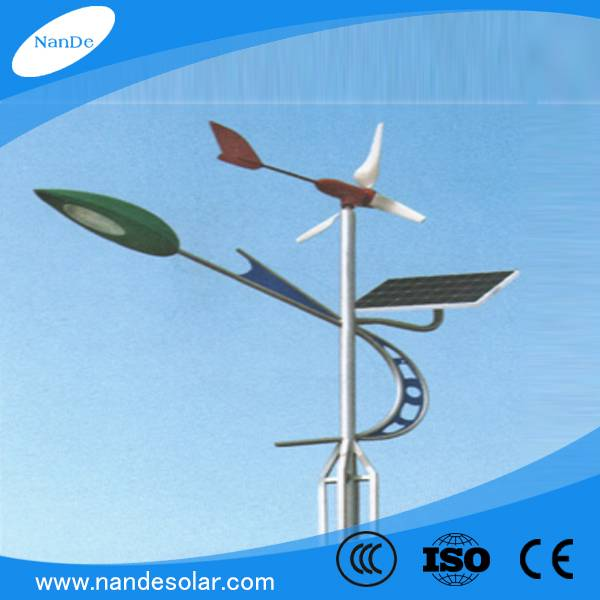 Manufacturer high quality 60W solar&wind street LED light