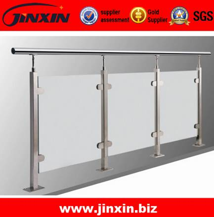 JINXIN Tempered Glass Railing|Glass Balcony Railing Designs