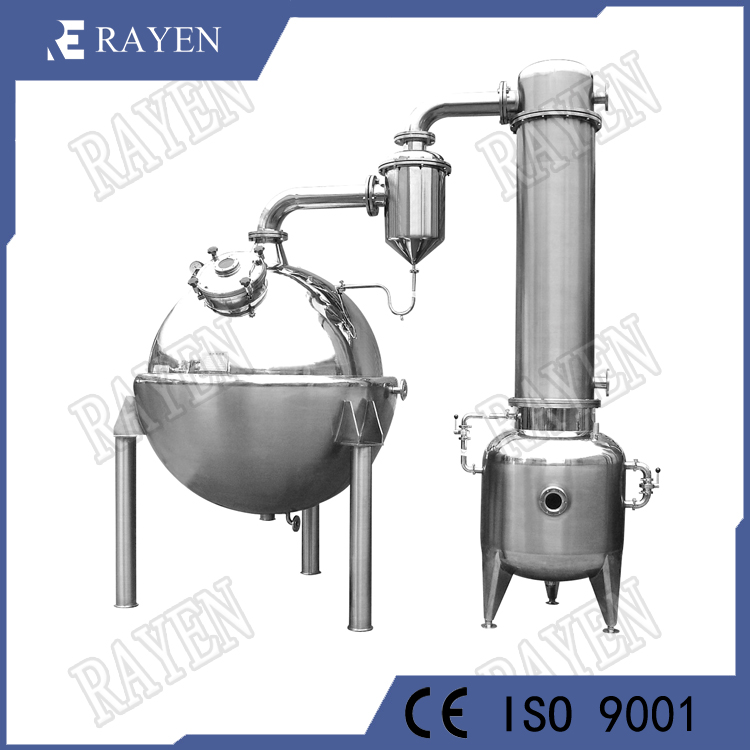 Stainless steel vacuum concentrator machine