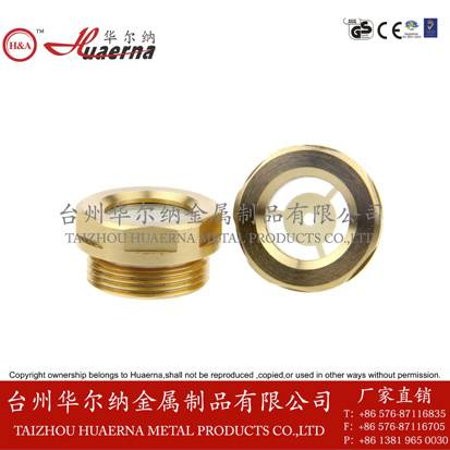 gearboxes oil level indicator oil sight glass brass oil sight level glass