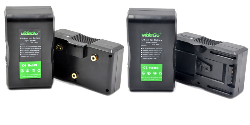 videGo Braodcast Camera Battery Li-ion for Sony Anton Bauer Battery V Mount 320WH 98wh 130wh 160wh