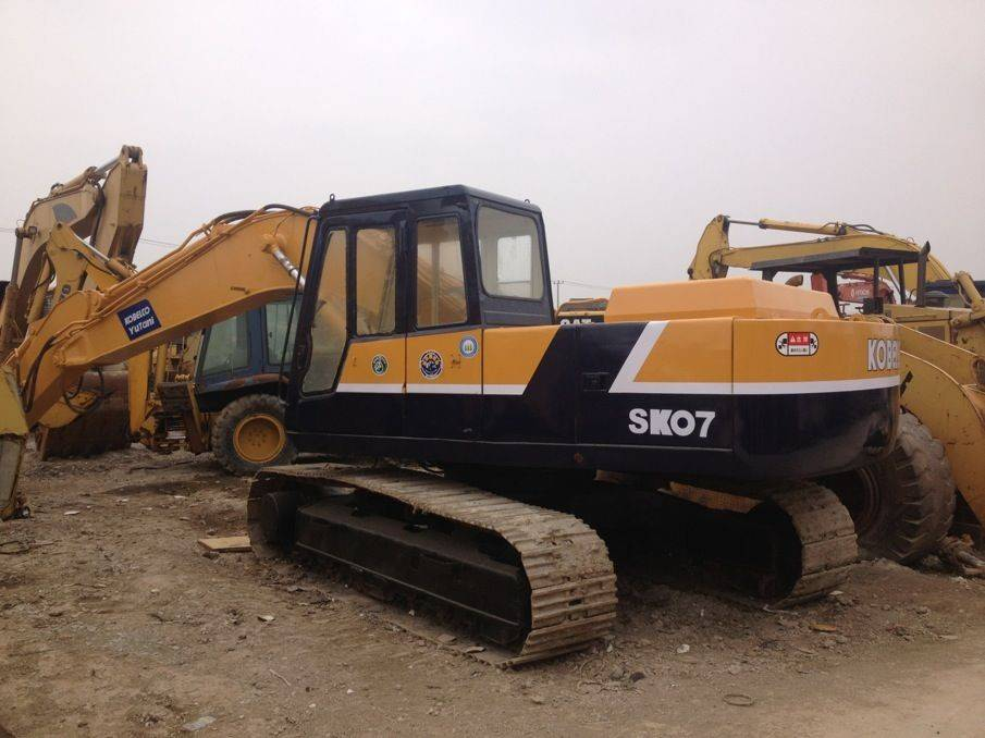 Used Kobelco sk07 Crawler Excavator Original from Japan