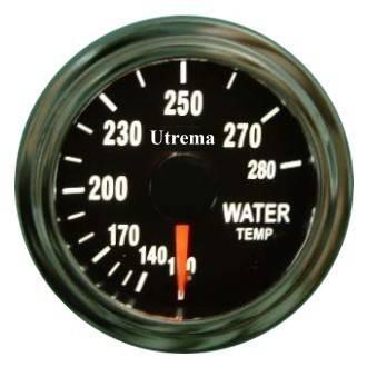 Utrema Auto Water Temperature Gauge Illuminated 52mm