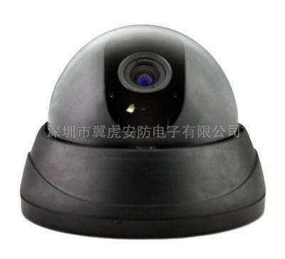 Supply Shenzhen wing housing MDP-012-B Black 4 inch corrugated hemispheric security surveillance cam