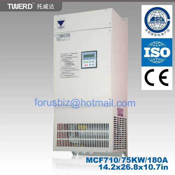 Adjustable frequency drive(MFC 710 series) for General Purpose 3x400V, 50/60HZ ,0.75-355KW with DTC