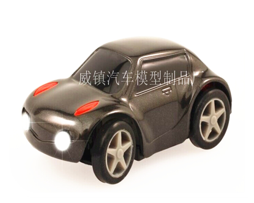 Plastic LED car model production