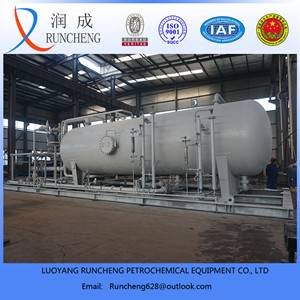 3 phase test separator / oil gas water separator with high technical