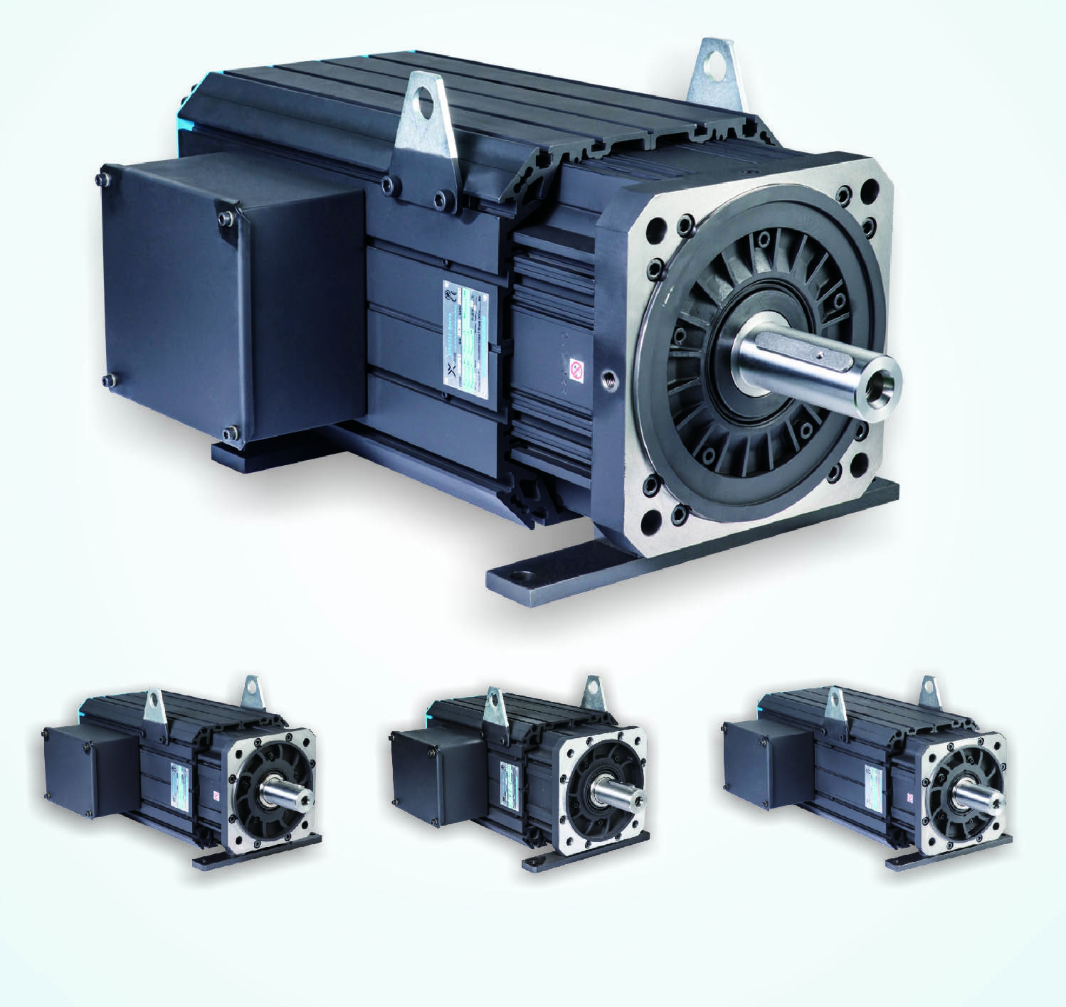 Servo motor and driver for injection molding machine