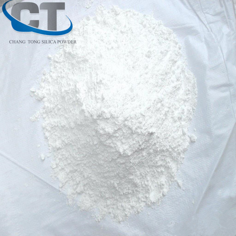 white Activated Silicon Oxide SiO2 Powder electronic potting