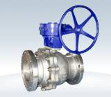 Outline of floating ball valve
