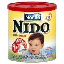nido milk powder kinder