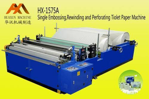 HX-1575 A (HX-1092/1575/2200/2300/2400/2800 A) Single Embossing style Toilet Paper Rewinding and Per