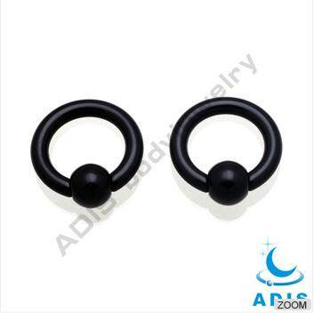 UV acrylic nose piercing ball closure rings