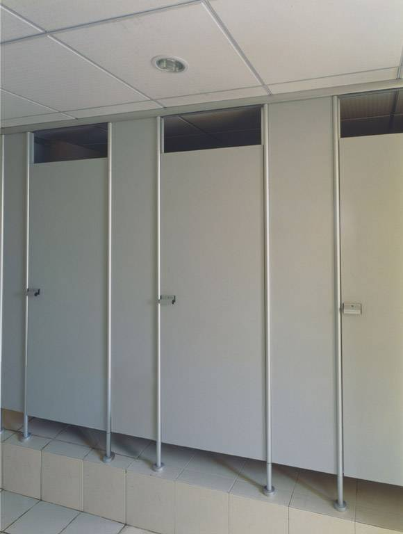 Competitive Germany western toilet price stainless steel toilet cubicle dressing room partition
