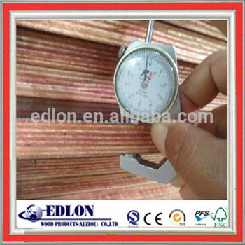 2015 top selling products 6.5mm/18mm chinese black fillm faced plywood for construction