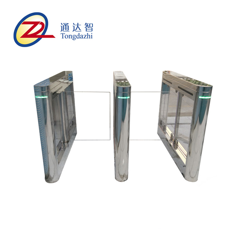 Waterproof swipe card security access control swing turnstile gate for supplier