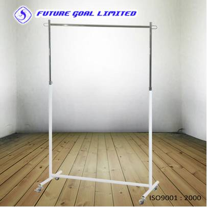 Adjustable Metal Garment Rack / Clothes Display Stand