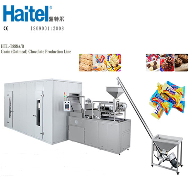 Healthy Snack Chocolate Cereal Energy Bar Making Machine