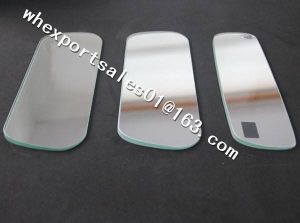 .Internal  Aluminum Plating Car Mirror Glass