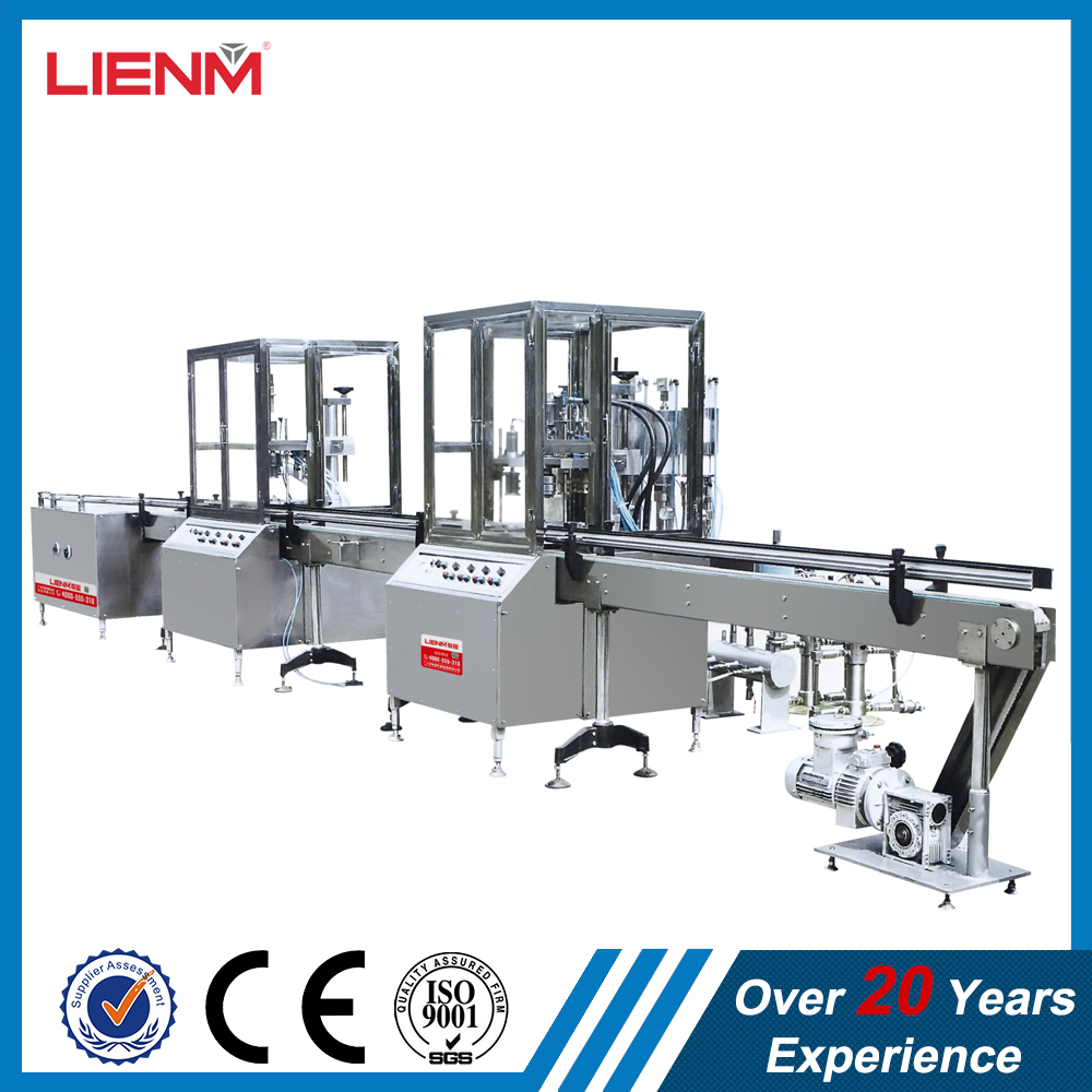High Capacity Full Automatic Aerosol Spray Paint Filling Machine/Spray Saffron Water Filling Machine