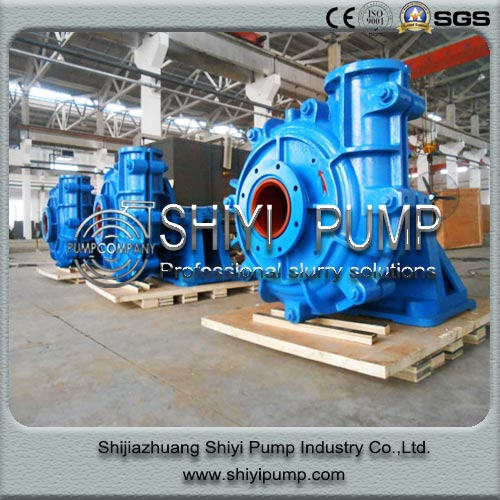 Heavy Duty Water Treatment Single Stage Slurry Centrifuga Pump to Suck Sludge & Mud