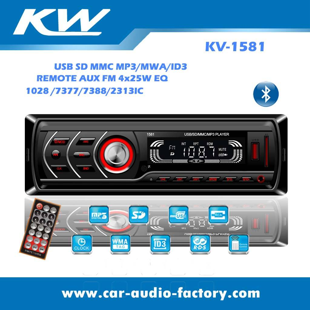 KV1581 Car audio MP3 player