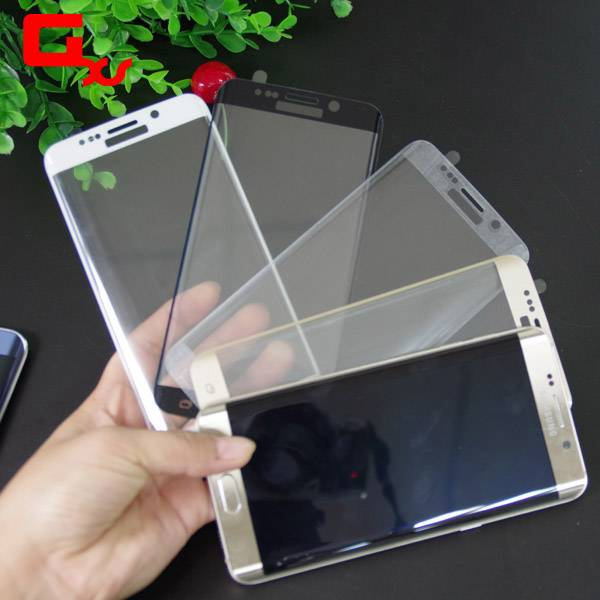 0.2mm 9H clear glass for samsung galaxy s6edge curved screen protector