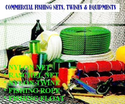 Commercial fishing net & twine