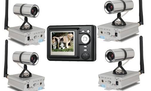 500m wireless camera